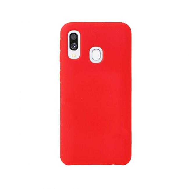 Θήκη για Samsung Galaxy A40 Tpu Liquid Silicone Red