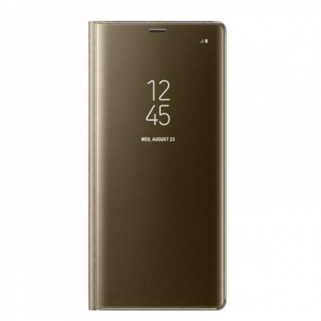 Θήκη για Samsung Galaxy A50 Senso Clear Book Gold SECLBSAMA50G