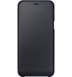 Θήκη για Samsung Galaxy A6 2018 Flip Wallet Black EF-WA600CBEGWW Original Blister
