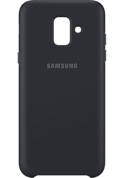 Θήκη για Samsung Galaxy A6 2018 Dual Layer Cover Black EF-PA600CBE Original