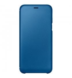 Θήκη για Samsung Galaxy A6 2018 Flip Cover Blue EF-WA600CLEGWW Original Blister