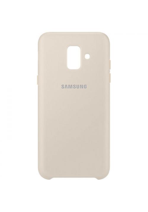 Θήκη για Samsung Galaxy A6 2018 Dual Layer Cover Gold EF-PA600CFE Original