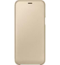 Θήκη για Samsung Galaxy A6 Plus 2018 Flip Cover Gold EF-WA605CFE Original Blister