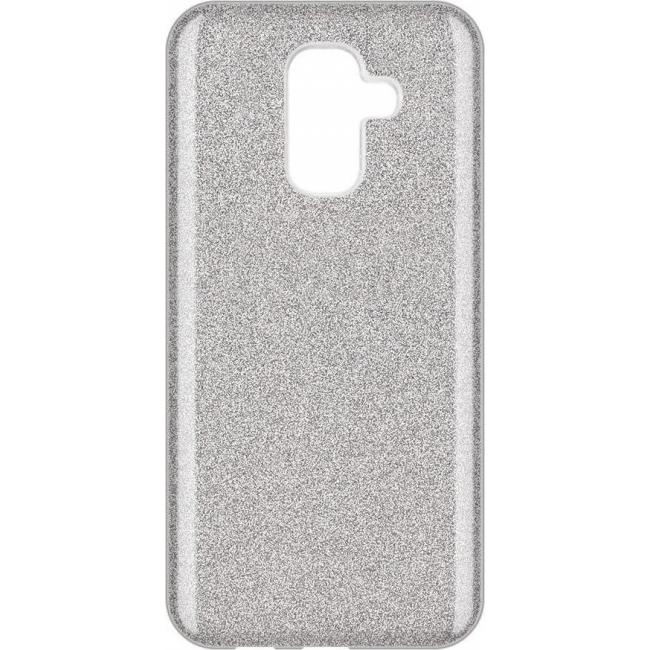 Θήκη για Samsung Galaxy A6 Plus 2018 Forcell Shining Silver
