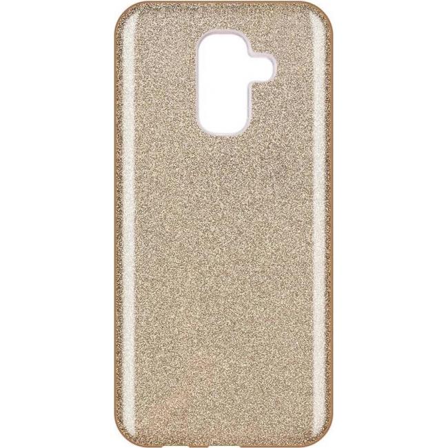 Θήκη για Samsung Galaxy A6 Plus 2018 Forcell Shining Gold (5901737913234)