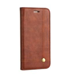 Θήκη για Samsung Galaxy A6 Plus 2018 Magnet Book Brown