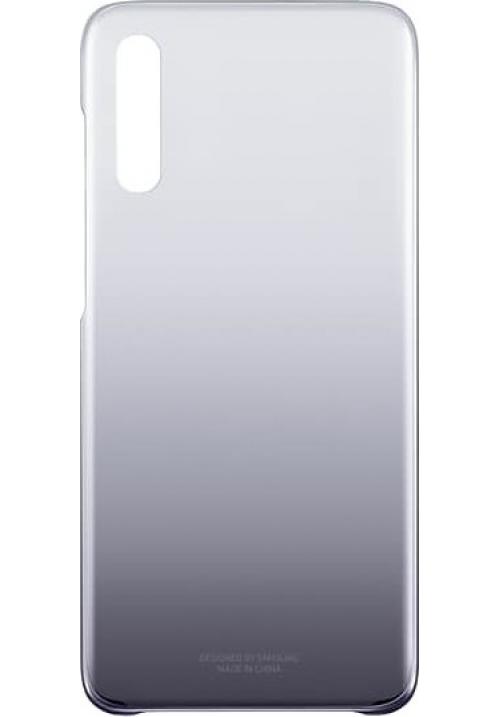 Θήκη για Samsung Galaxy A70 Gradation Cover Black Original (EF-AA705CBEGWW)