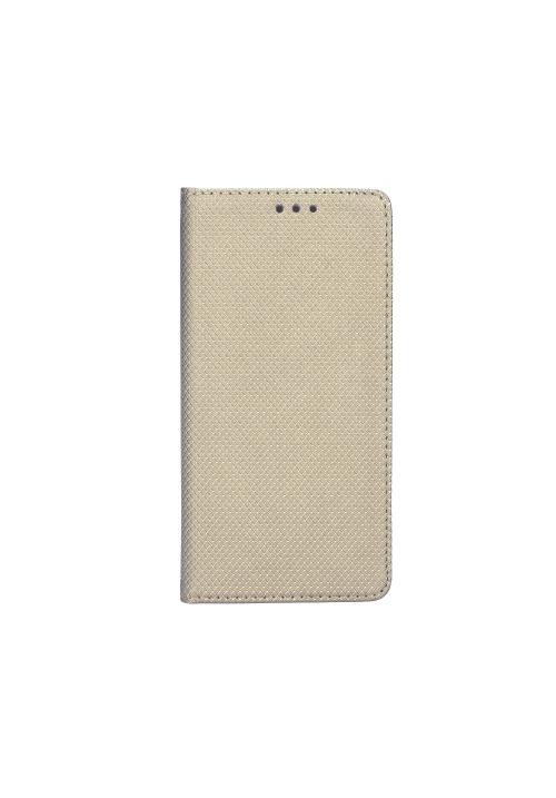 Θήκη για Samsung Galaxy A8 2018 Magnet Book Gold