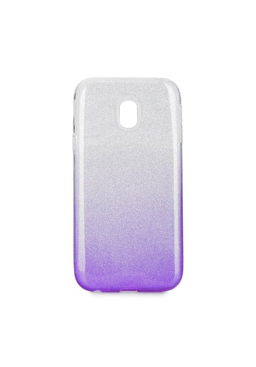 Θήκη για Samsung J3 2017 Forcell Shining Clear - Violet