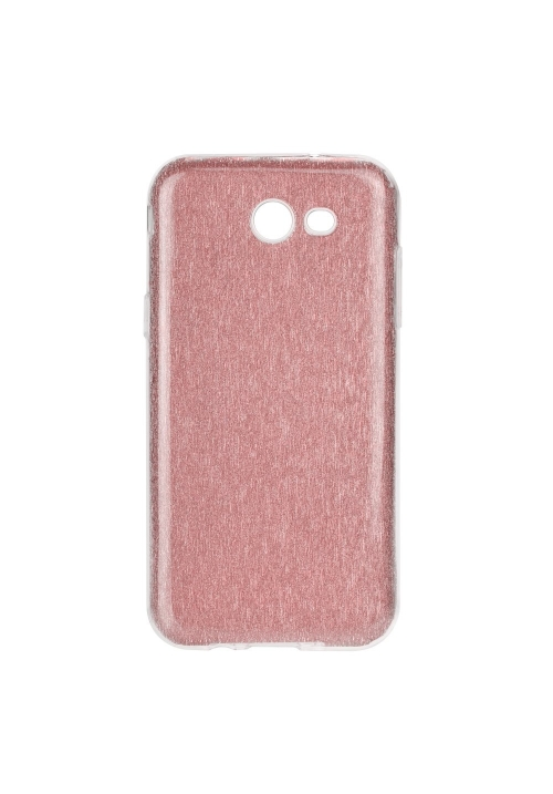 Θήκη για Samsung J3 2017 Forcell Shining Transparent - Pink