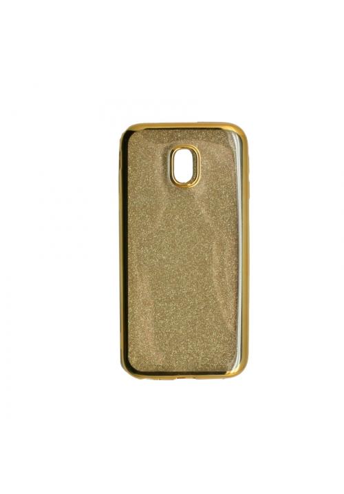 Θήκη για Samsung J3 2017 Electro Glitter Gold