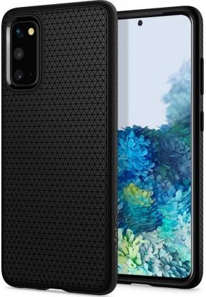 Θήκη για Samsung Galaxy S20 Spigen Liquid Air Matte Black