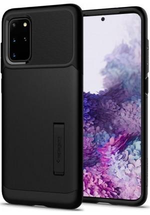 Θήκη για Samsung Galaxy S20 Plus Spigen Slim Armor Black (ACS00647)