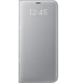 Θήκη για Samsung S8 Plus Flip Cover Led Silver EF-NG955PSE Original