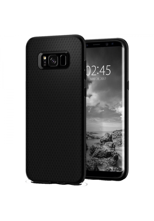Θήκη για Samsung S8 Plus Spigen Liquid Air Black (571CS21663)