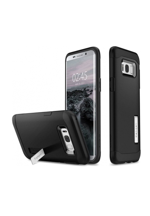 Θήκη για Samsung S8 Plus Spigen Slim Armor Black