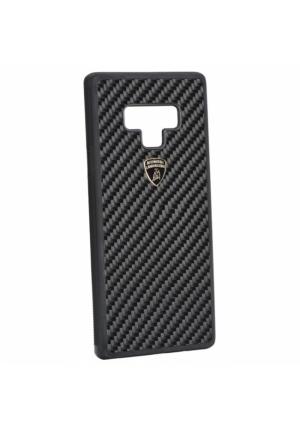 Θήκη για Samsung Galaxy Note 9 S-Skin Lamborghini Elemento-D3 Black Original (LB-TPUPCNote9-EL/D3-BK)