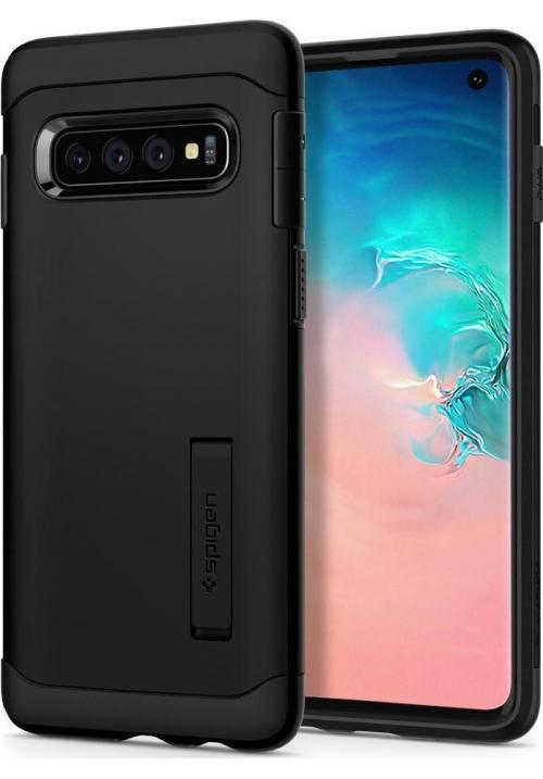 Θηκη για Samsung Galaxy S10 Spigen Slim Armor Black (605CS25917)