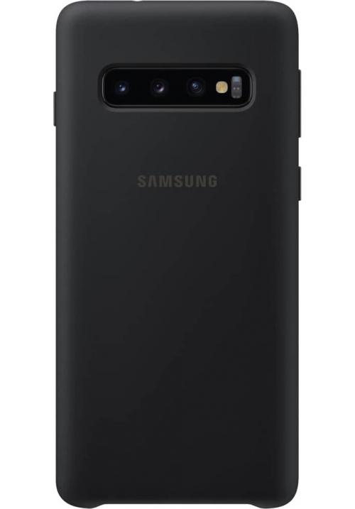 Θηκη για Samsung Galaxy S10 Silicone Cover Black Original EF-PG973TBE