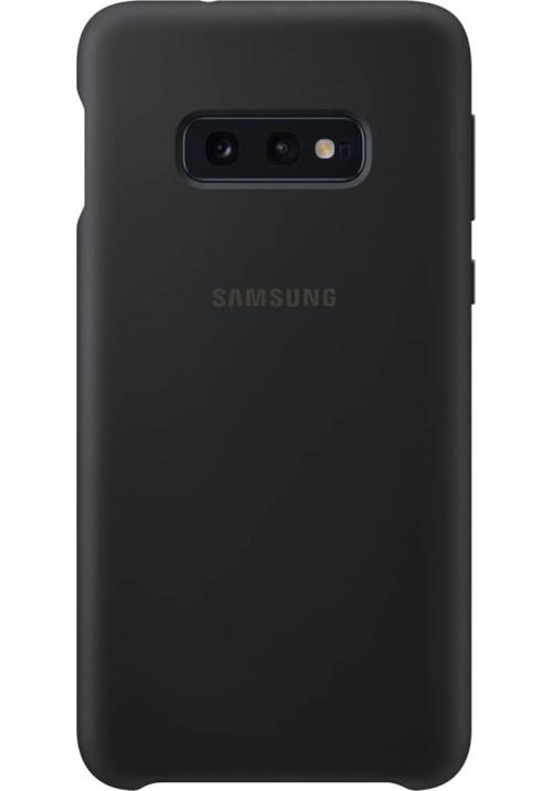 Θήκη για Samsung Galaxy S10e Silicone Cover Black Original EF-PG970TBE