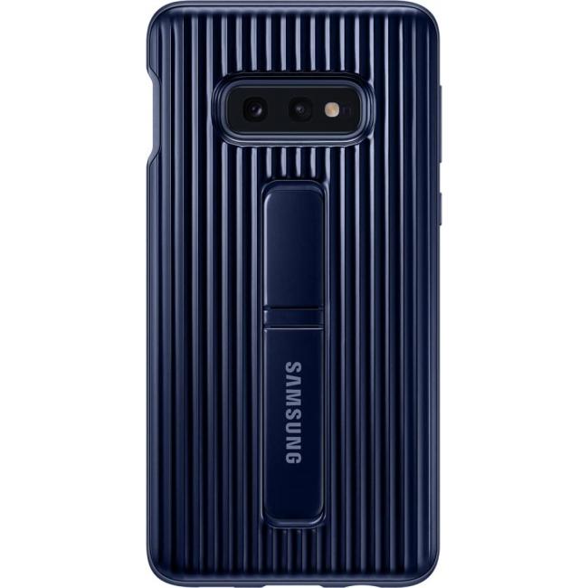 Θήκη για Samsung Galaxy S10e Standing Back Cover Blue Original EF-RG970CLE