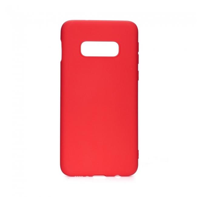 Θήκη για Samsung Galaxy S10e Forcell Soft Red