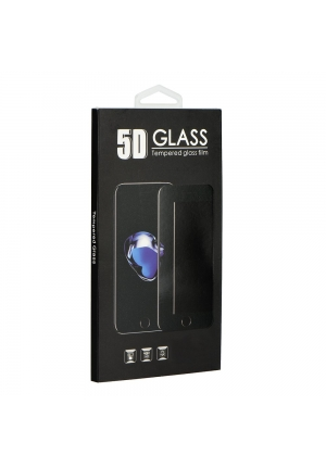 Tempered Glass 9h for Samsung Galaxy S10 Plus 5D Full Glue Black (Hole)