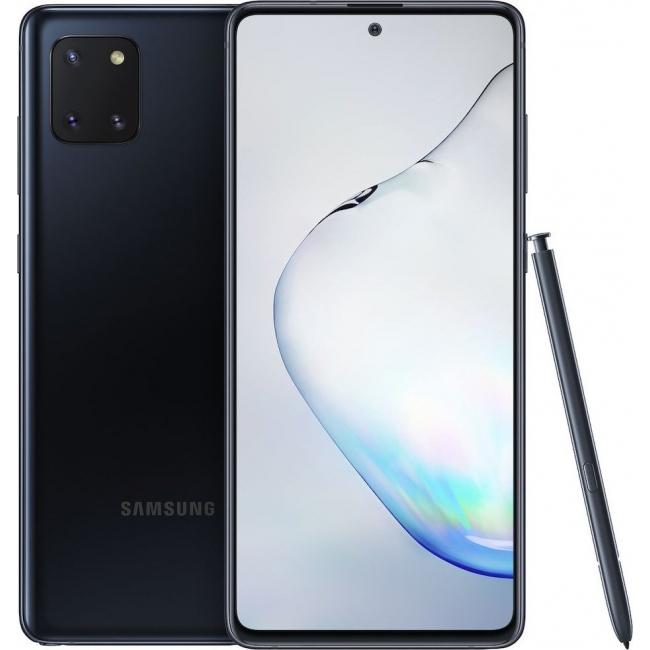 SAMSUNG GALAXY NOTE 10 LITE N770 128GB 6GB RAM DUAL BLACK EU