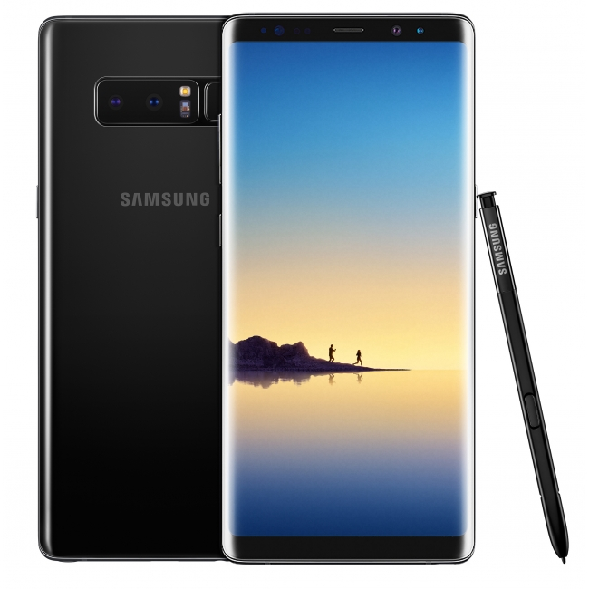 SAMSUNG GALAXY NOTE 8 N950F 64GB MIDNIGHT BLACK EU