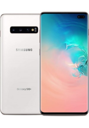 SAMSUNG GALAXY S10 PLUS G975 128GB DUAL CERAMIC WHITE EU