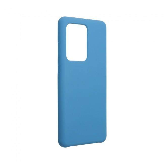 Θήκη για Samsung Galaxy S20 Ultra Forcell Silicone Dark Blue