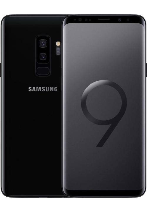 SAMSUNG G965 GALAXY S9 PLUS 64GB DUAL MIDNIGHT BLACK EU
