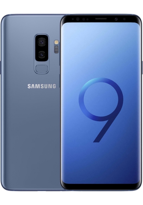 SAMSUNG G965 GALAXY S9 PLUS 64GB DUAL CORAL BLUE EU (ΜΕ ΑΝΤΑΠΤΟΡΑ)