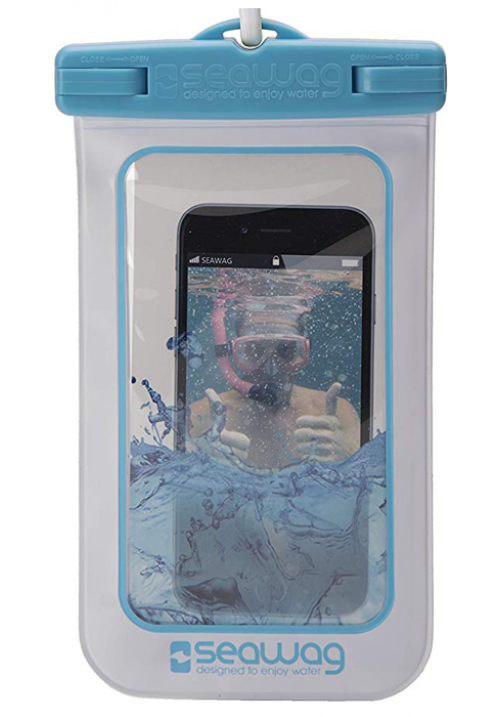 Θήκη για Smartphone Waterproof Seawag White-Blue W2X