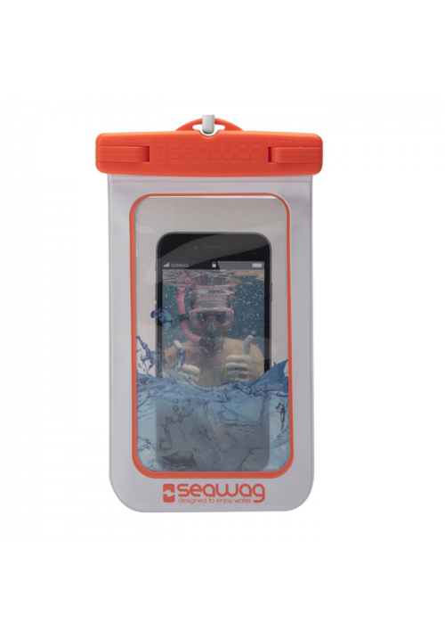 Θήκη για Smartphone Waterproof Seawag White-Orange W5X