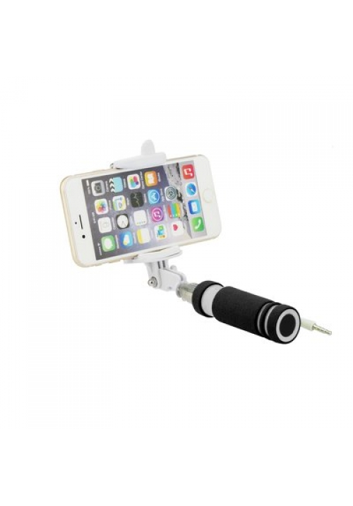 SELFIE STICK BLUN MINI WITH CABLE JACK 3.5mm BLACK