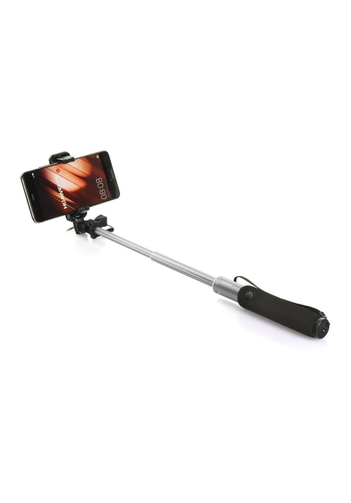 SELFIE STICK REMAX COMBO P5 JACK 3.5mm SILVER