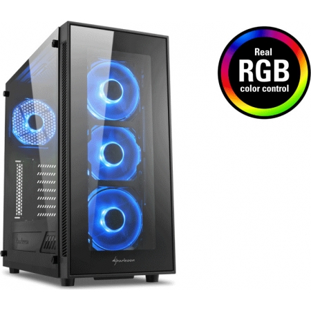 CASE SHARKOON TG5 RGB 404495102...