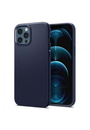 ΘΗΚΗ ΓΙΑ APPLE IPHONE 12 PRO MAX SPIGEN LIQUID AIR NAVY BLUE ACS02247