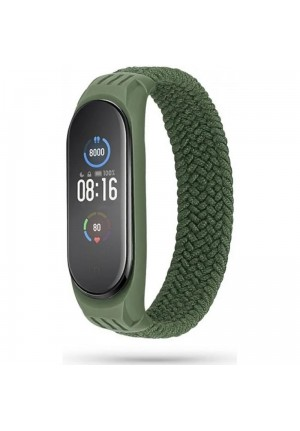 TECH PROTECT LOOP STRAP FOR XIAOMI MI BAND 5/6 ARMY GREEN