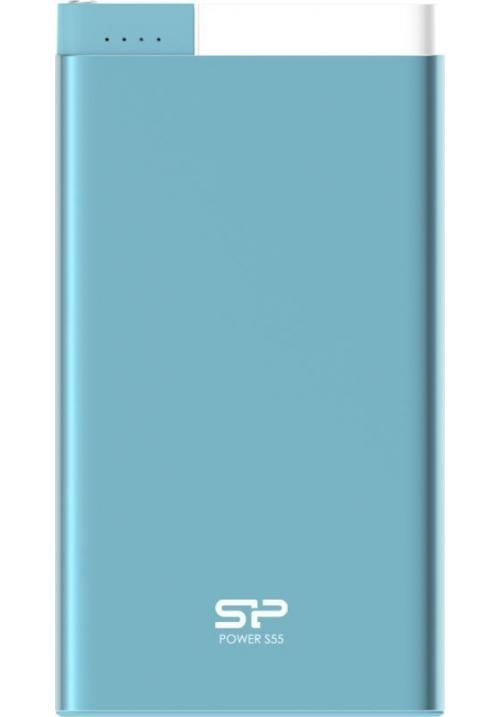 POWER BANK SILICON POWER S55 5000mAh SP5K0MAPBKS55P0B BLUE