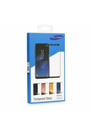 TEMPERED GLASS 9H BLUE STAR 5D FULL COVER FOR APPLE IPHONE 7/8/SE 2020 BLACK