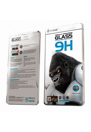 TEMPERED GLASS X-ONE 9H FULL COVER EXTRA STRONG FOR APPLE IPHONE 13 MINI 5.4'' CLEAR