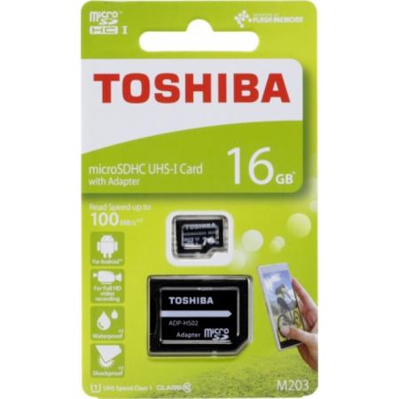 TOSHIBA MICRO SDHC M203 EXCERIA...