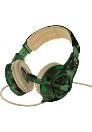 HEADPHONES TRUST GTX 310C RADIUS JUNGLE CAMO 22207 GAMING