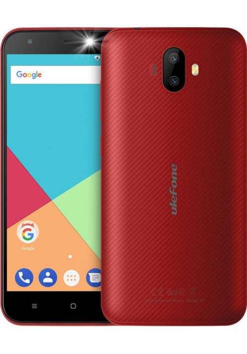 "ULEFONE S7 5"" 1GB 8GB DUAL RED"