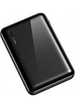 POWER BANK USAMS PB37 10000mAh BLACK 10KCD10201