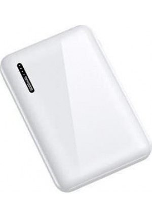 POWER BANK USAMS PB37 10000mAh WHITE 10KCD10202