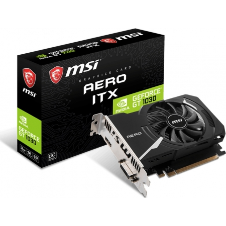 VGA MSI GEFORCE GT1030 2GB AERO...