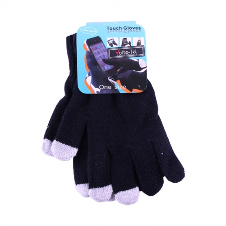WINTER GLOVES TOUCH SCREEN BLAC...